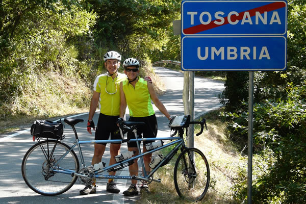 Link to Information on Italy Tandem Tour